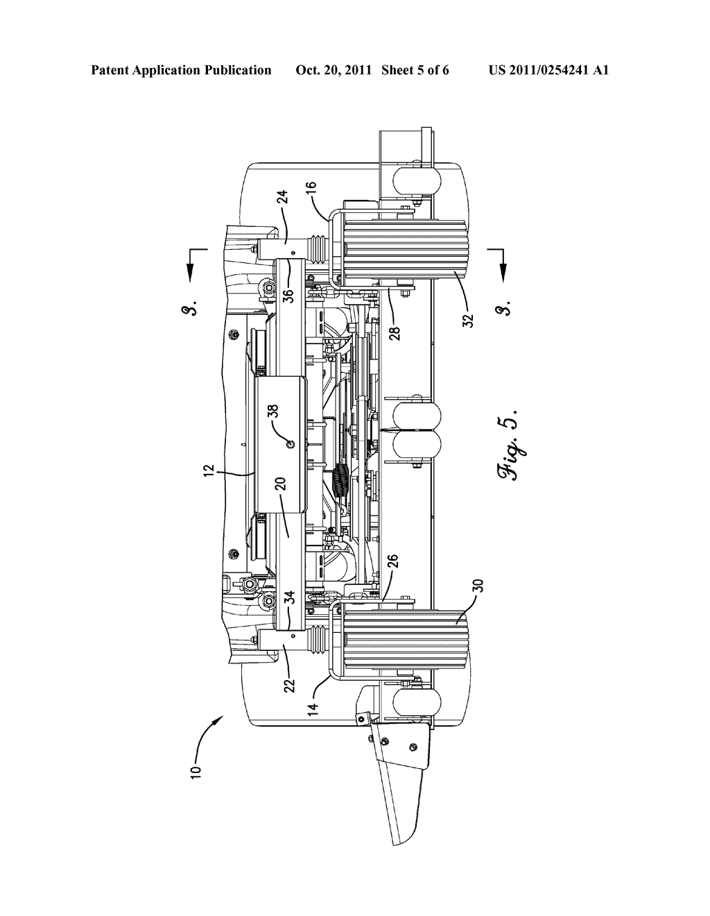 CASTER WHEEL SUSPENSION FOR A ZERO-TURN MOWER - diagram, schematic, and image 06