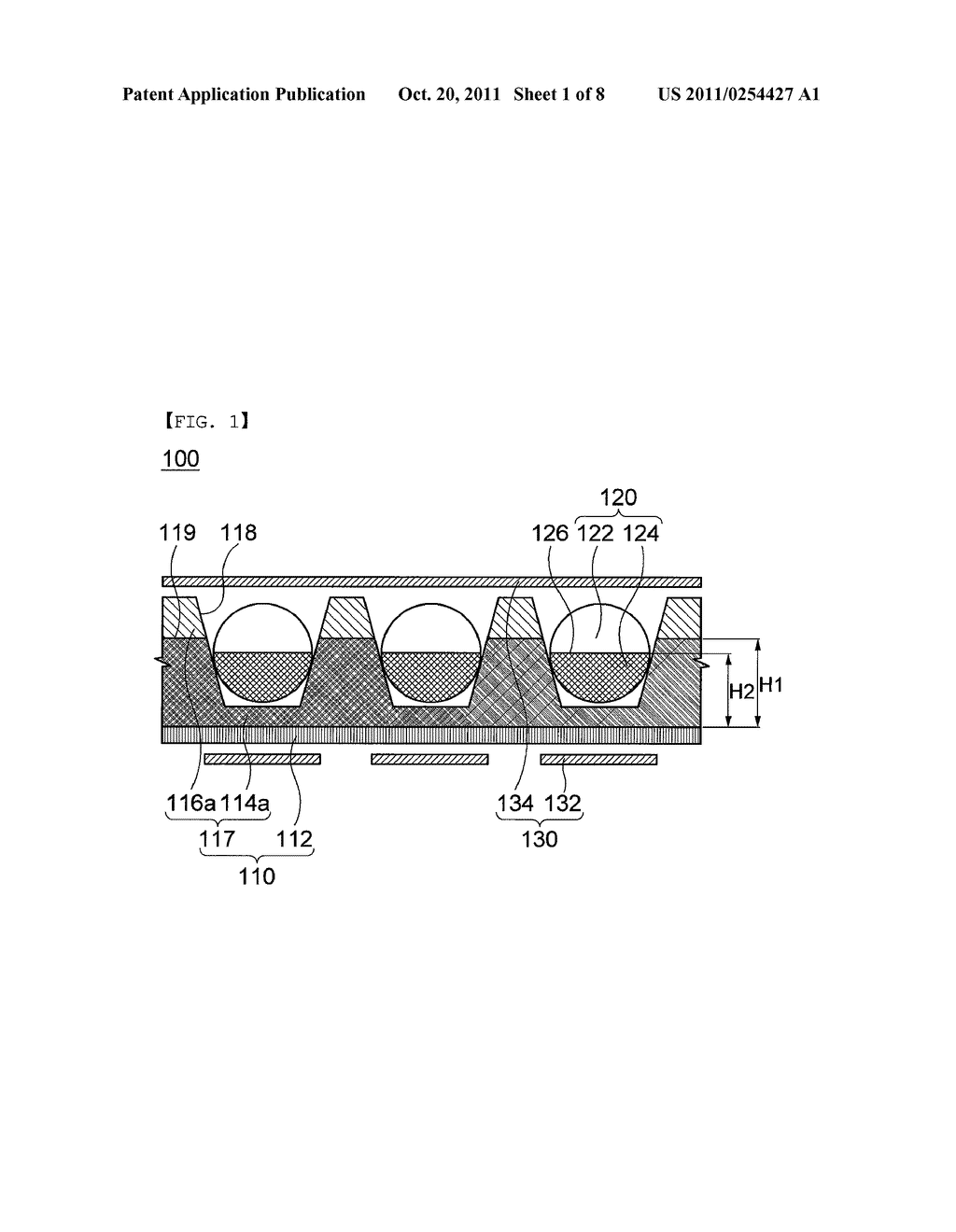 COLOR ELECTRONIC PAPER DISPLAY DEVICE AND METHOD FOR MANUFACTURING THE     SAME - diagram, schematic, and image 02