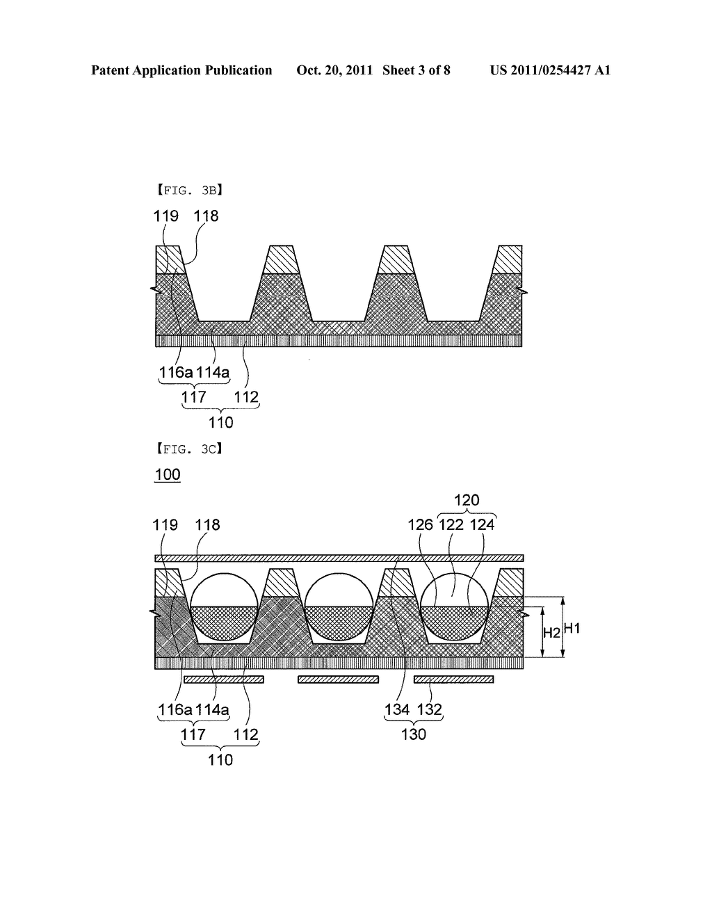 COLOR ELECTRONIC PAPER DISPLAY DEVICE AND METHOD FOR MANUFACTURING THE     SAME - diagram, schematic, and image 04