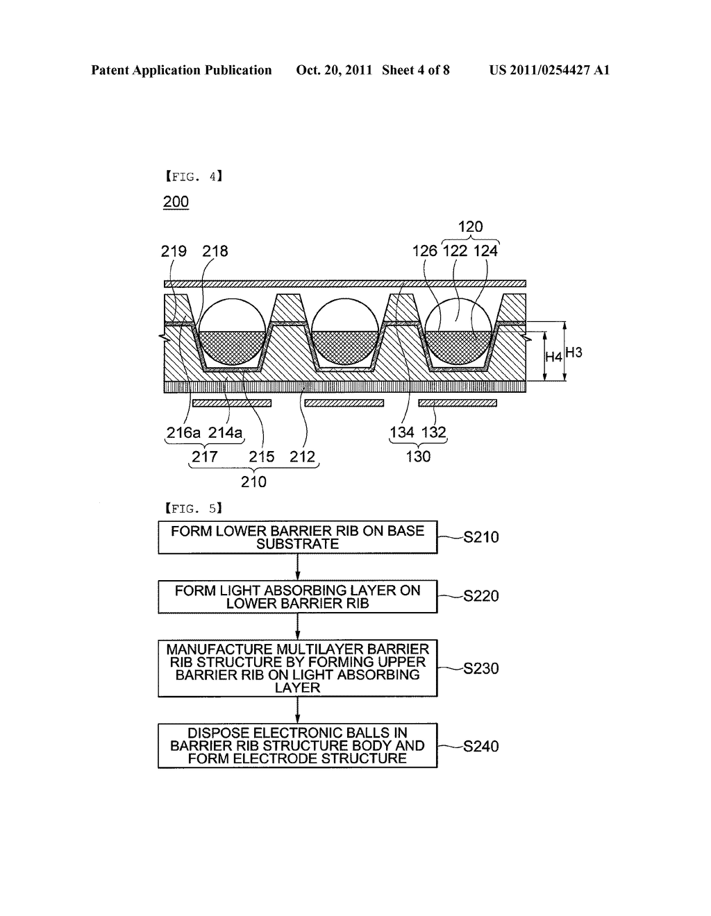 COLOR ELECTRONIC PAPER DISPLAY DEVICE AND METHOD FOR MANUFACTURING THE     SAME - diagram, schematic, and image 05