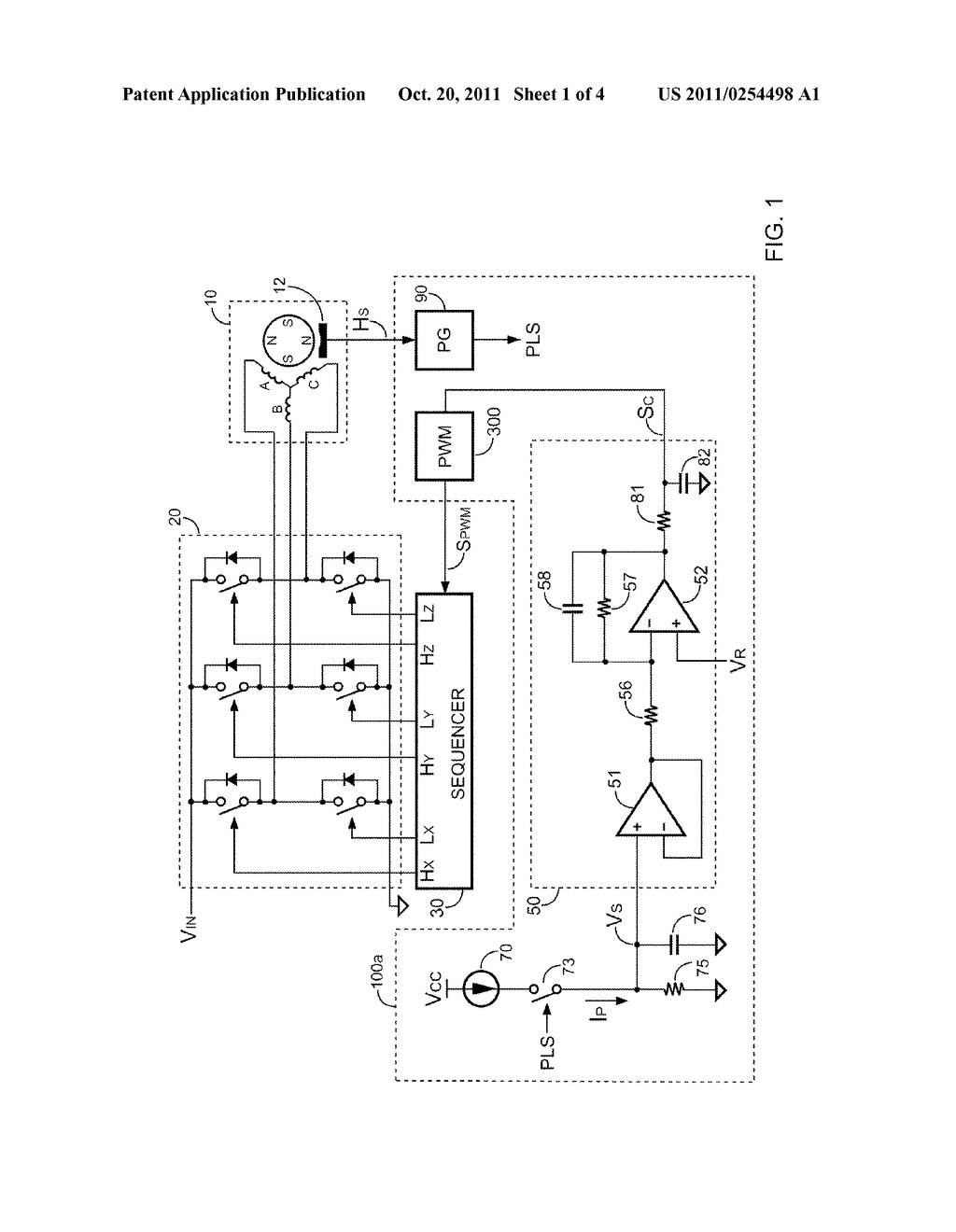 bldc motor sd controller circuit diagram