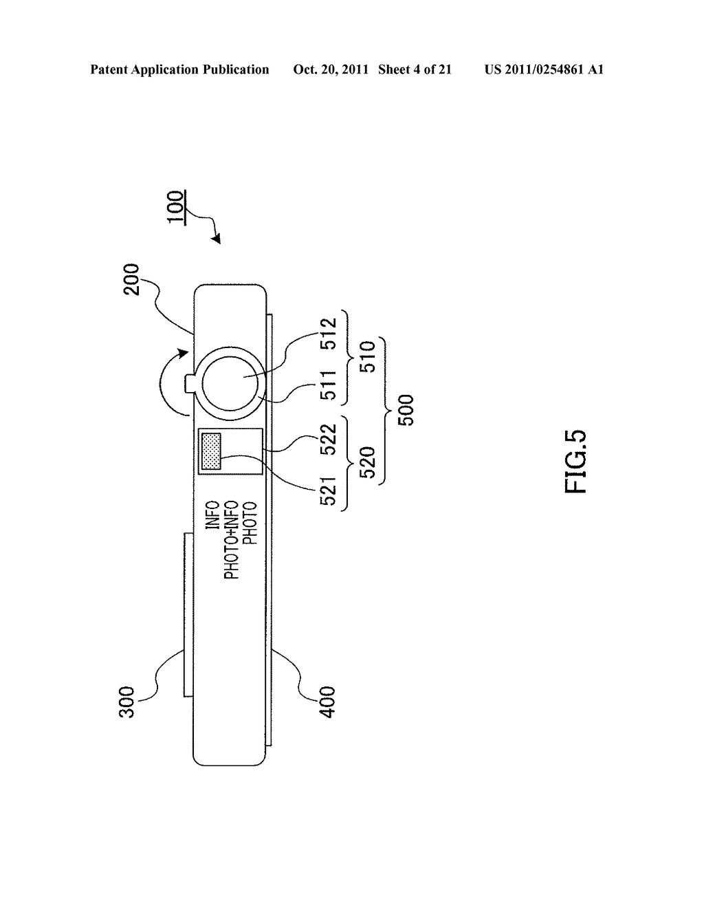 INFORMATION DISPLAYING APPARATUS AND INFORMATION DISPLAYING METHOD - diagram, schematic, and image 05