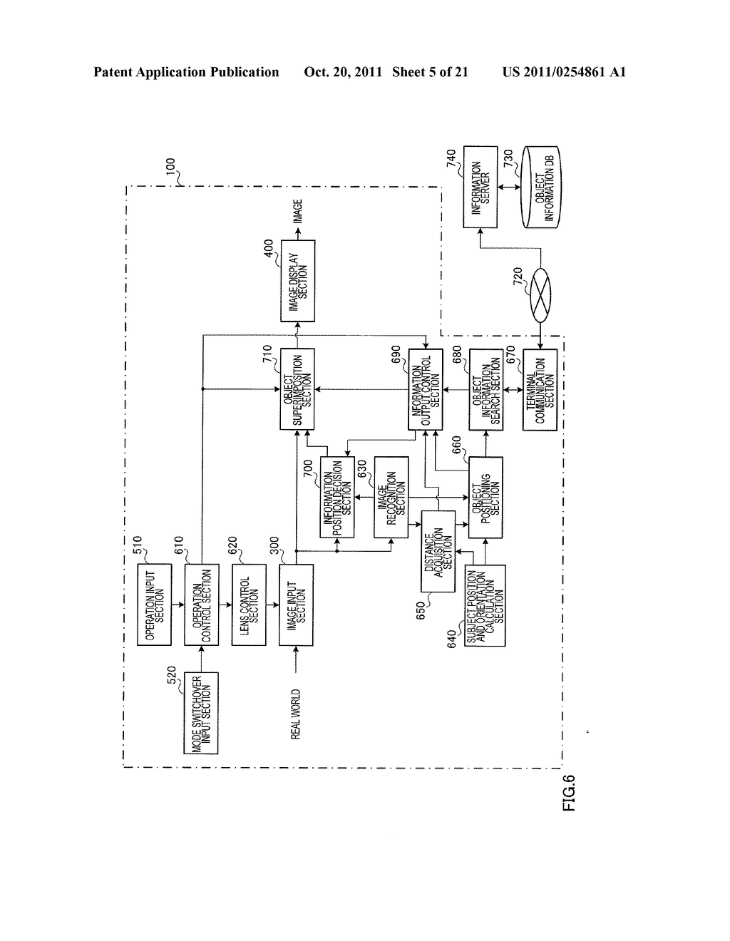 INFORMATION DISPLAYING APPARATUS AND INFORMATION DISPLAYING METHOD - diagram, schematic, and image 06