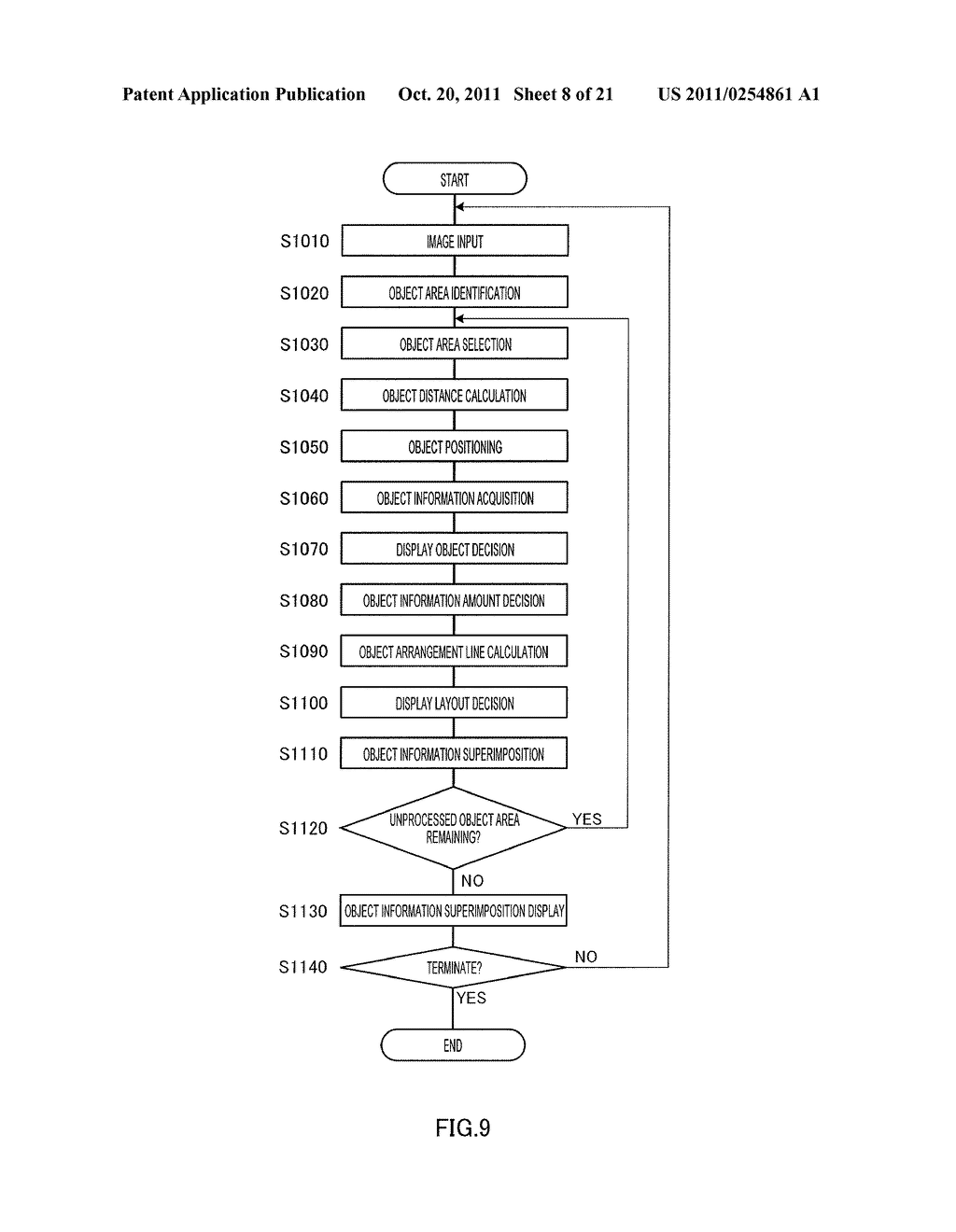 INFORMATION DISPLAYING APPARATUS AND INFORMATION DISPLAYING METHOD - diagram, schematic, and image 09