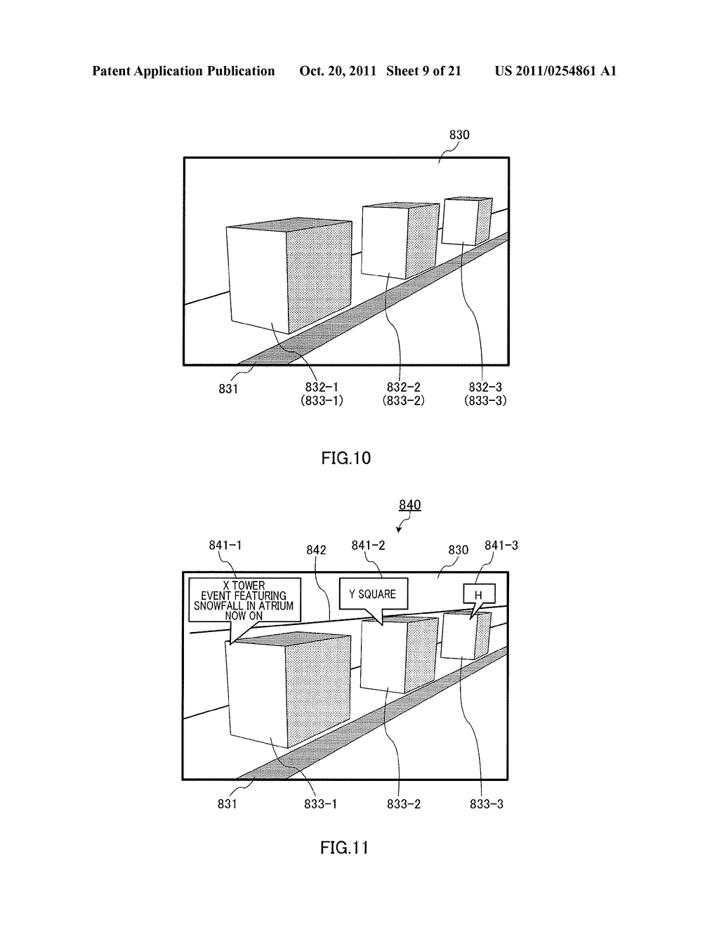 INFORMATION DISPLAYING APPARATUS AND INFORMATION DISPLAYING METHOD - diagram, schematic, and image 10