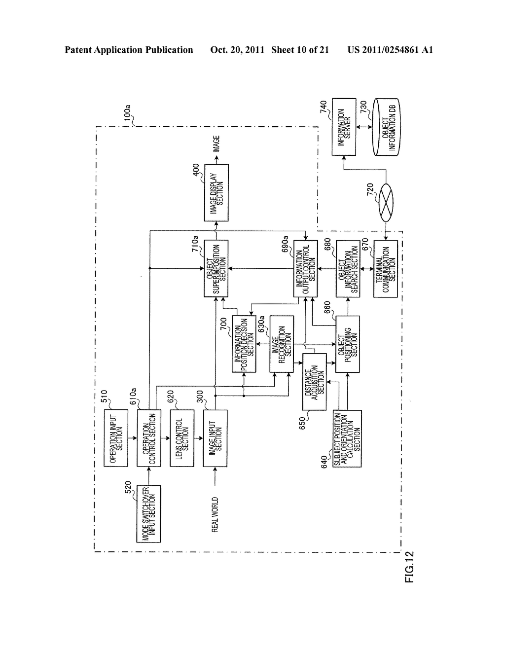 INFORMATION DISPLAYING APPARATUS AND INFORMATION DISPLAYING METHOD - diagram, schematic, and image 11