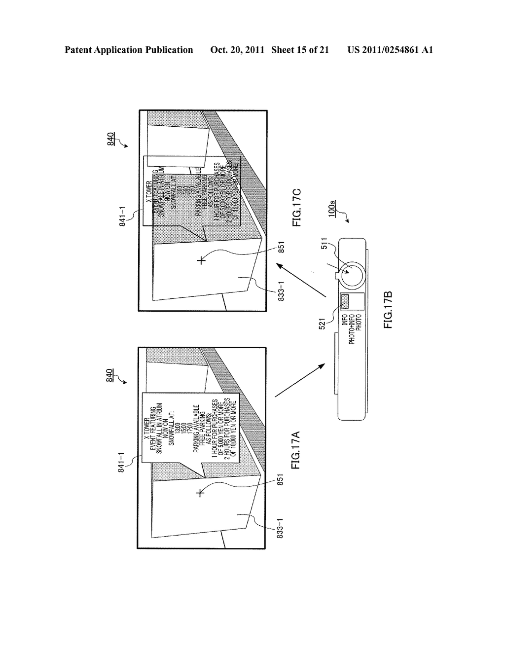 INFORMATION DISPLAYING APPARATUS AND INFORMATION DISPLAYING METHOD - diagram, schematic, and image 16