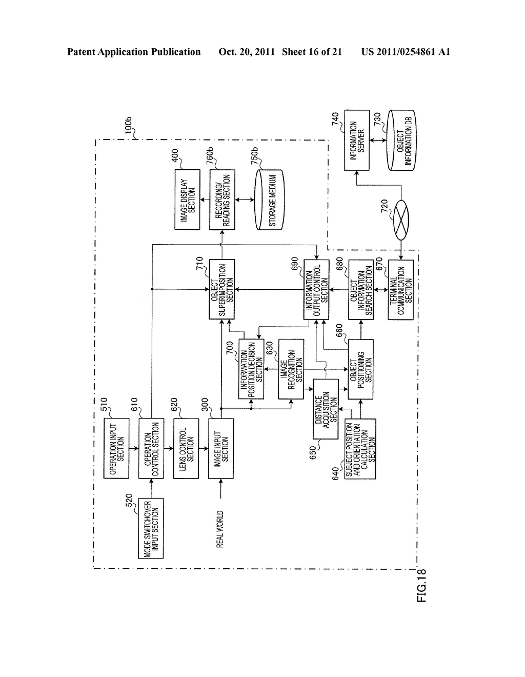 INFORMATION DISPLAYING APPARATUS AND INFORMATION DISPLAYING METHOD - diagram, schematic, and image 17