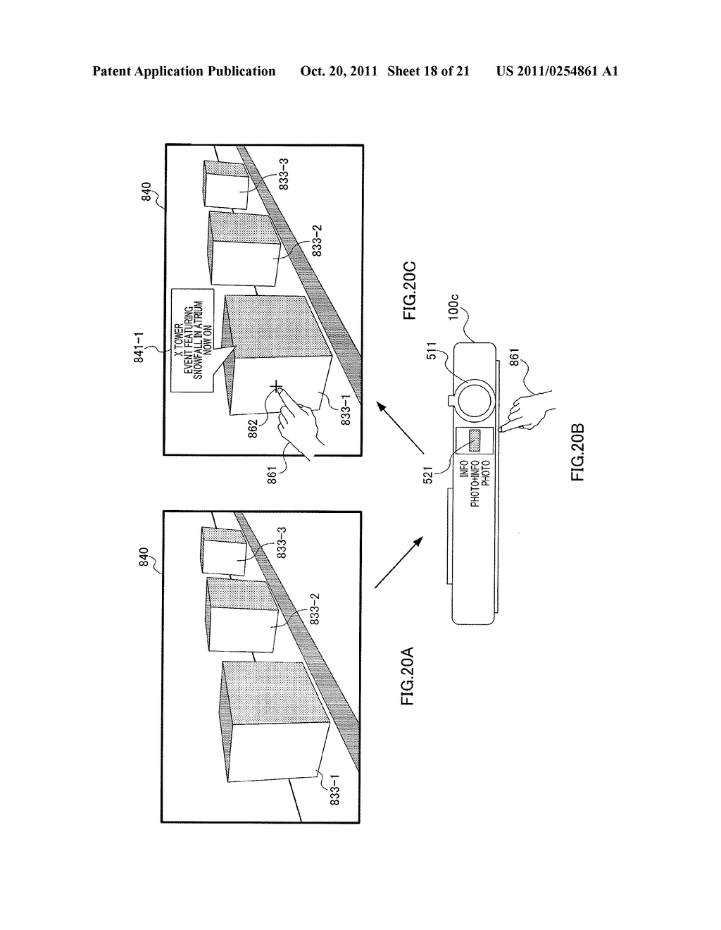 INFORMATION DISPLAYING APPARATUS AND INFORMATION DISPLAYING METHOD - diagram, schematic, and image 19