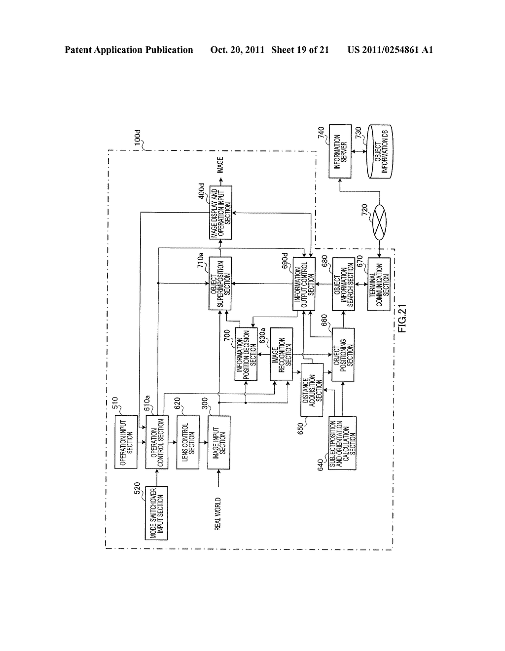 INFORMATION DISPLAYING APPARATUS AND INFORMATION DISPLAYING METHOD - diagram, schematic, and image 20