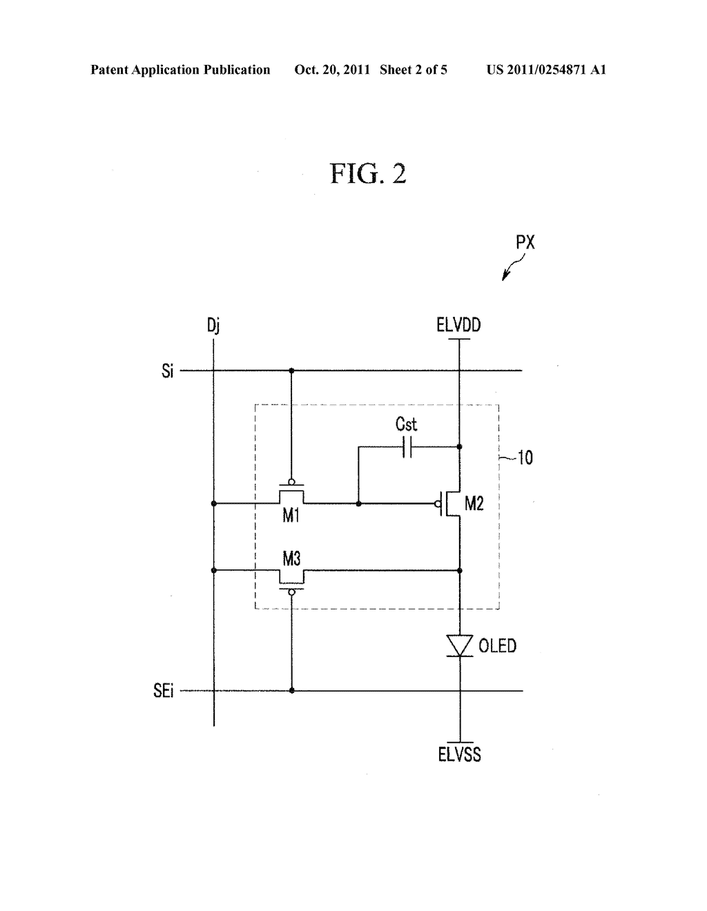 DISPLAY DEVICE AND METHOD FOR DRIVING THE SAME - diagram, schematic, and image 03