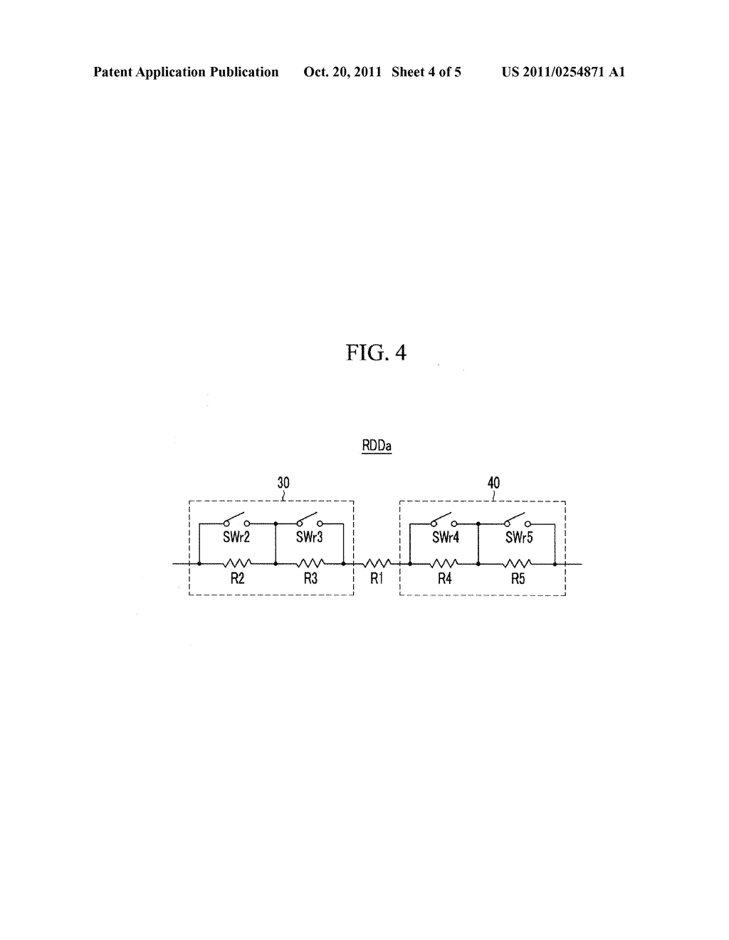 DISPLAY DEVICE AND METHOD FOR DRIVING THE SAME - diagram, schematic, and image 05