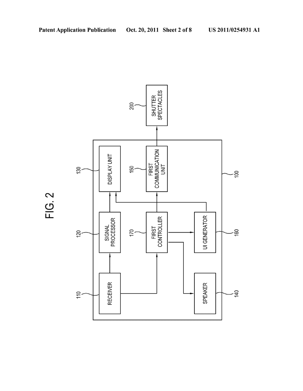 SHUTTER GLASSES AND DISPLAY APPARATUS INCLUDING THE SAME - diagram, schematic, and image 03