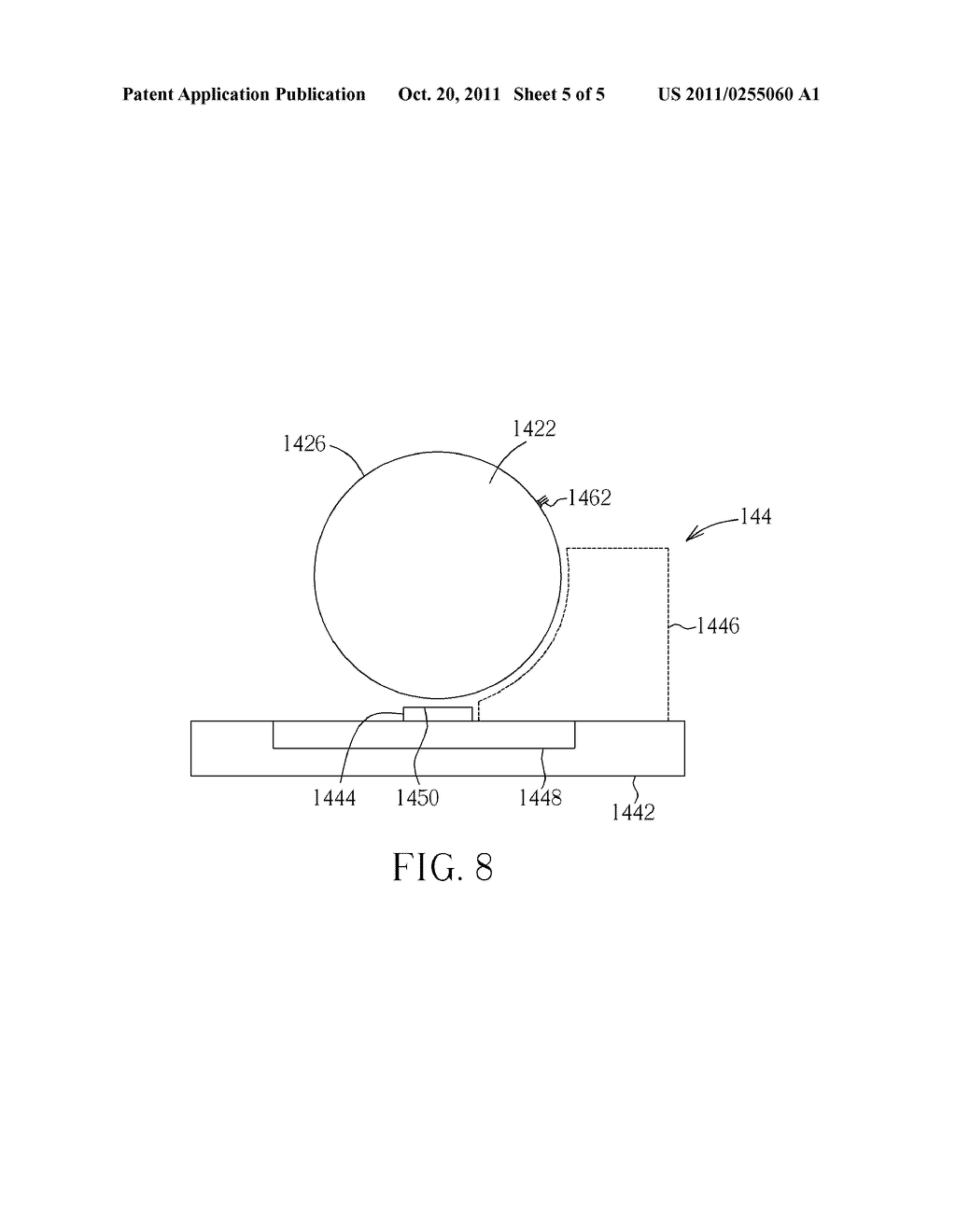OPTICAL SENSING APPARATUS, FILTER APPARATUS, AND PROJECTOR WITH ANTI-DUST     STRUCTURE - diagram, schematic, and image 06
