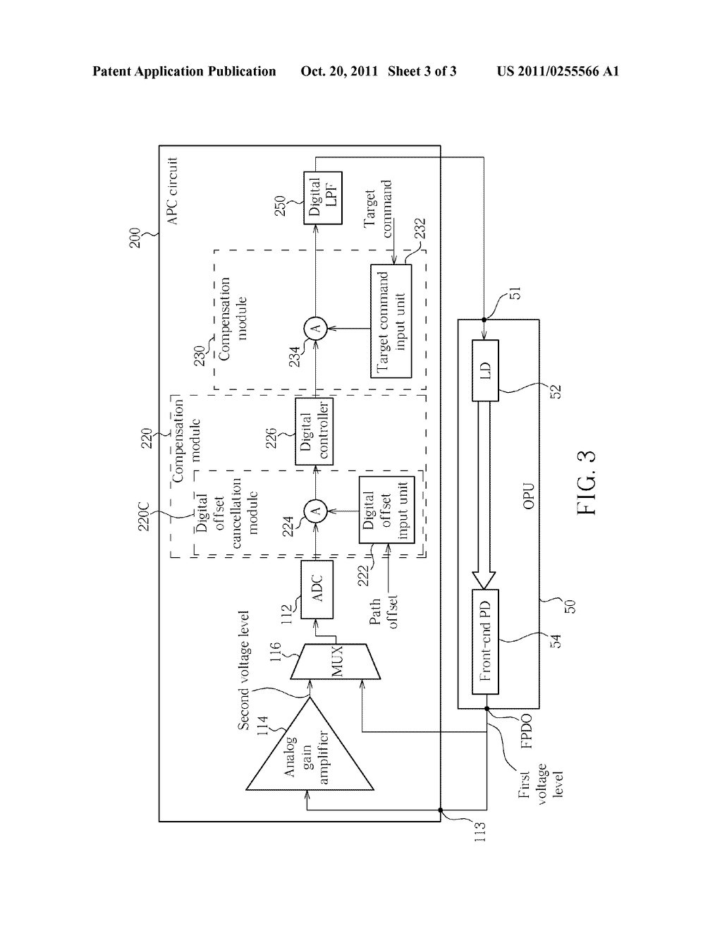Method For Deriving Precise Control Over Laser Power Of An Optical Ir Circuit Diagram Pickup Unit And Associated Automatic Calibration Schematic