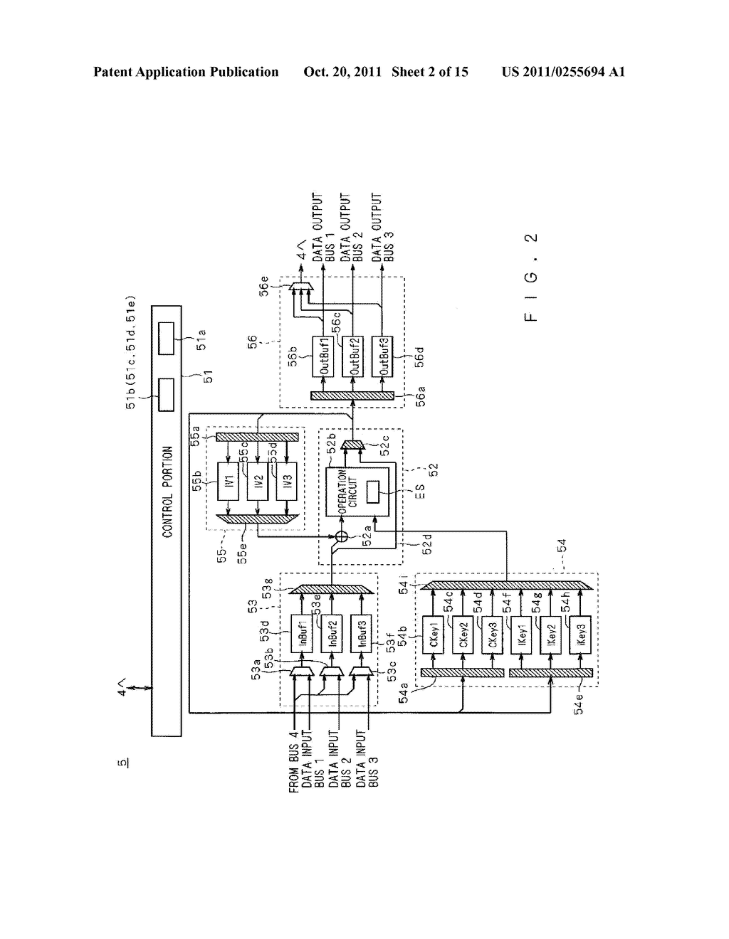 ENCODING/DECODING CIRCUIT - diagram, schematic, and image 03