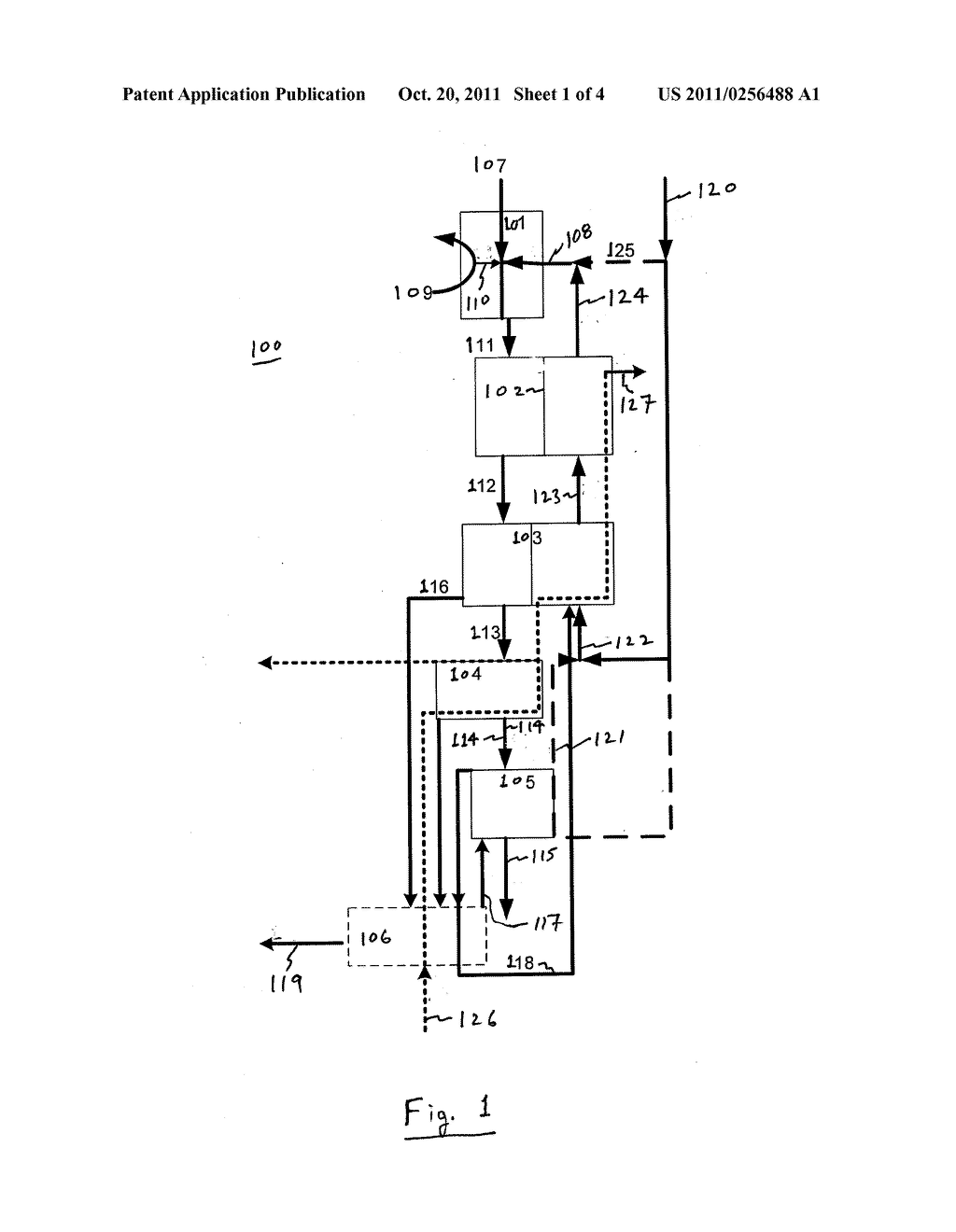 METHOD AND APPARATUS FOR EXTRACTION AND RECOVERY OF WATER-SOLUBLE VOLATILE     GAS, WATER VAPOR AND WASTE HEAT FROM STACK GAS - diagram, schematic, and image 02