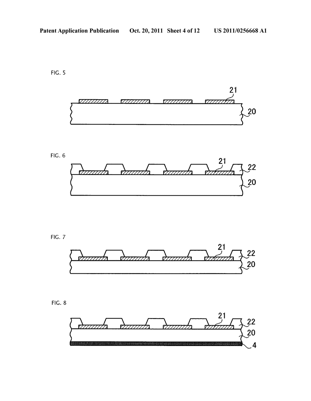 METHOD OF MANUFACTURING SEMICONDUCTOR APPARATUS - diagram, schematic, and image 05