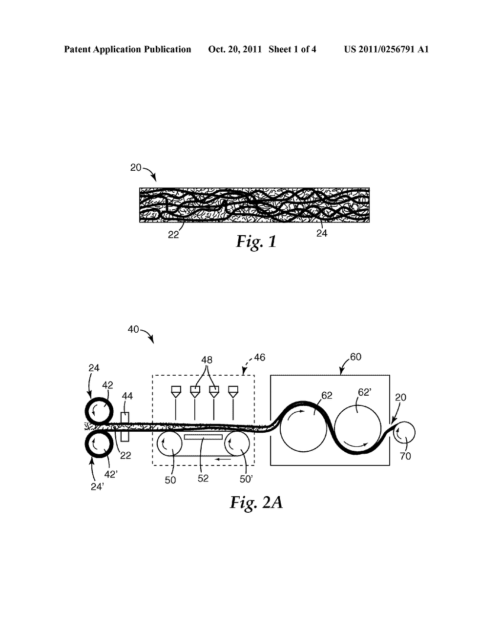 ELASTIC NONWOVEN FIBROUS WEBS AND METHODS OF MAKING AND USING - diagram, schematic, and image 02