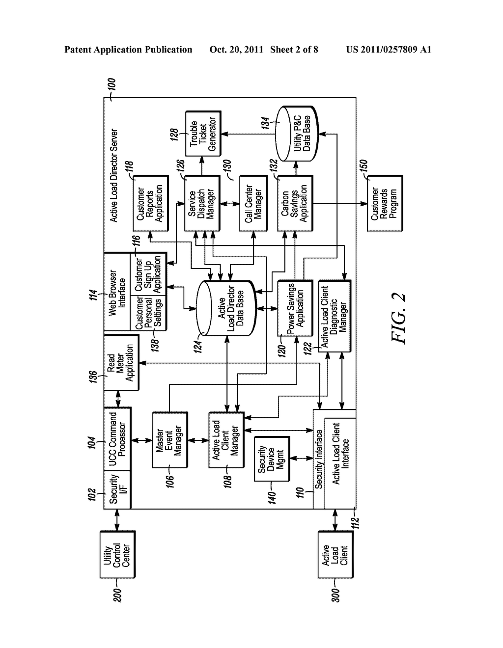 METHOD AND APPARATUS FOR ACTIVELY MANAGING CONSUMPTION OF ELECTRIC POWER     SUPPLIED BY AN ELECTRIC UTILITY - diagram, schematic, and image 03