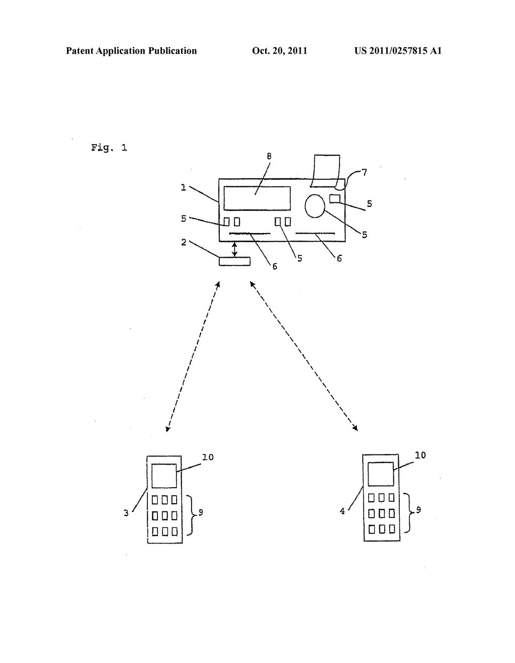 System for Collecting Operating Data of a Vehicle - diagram, schematic, and image 02