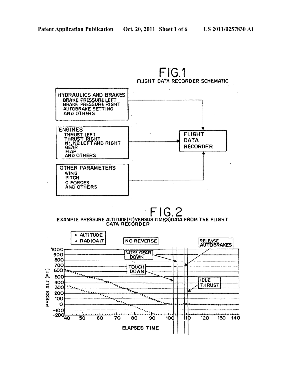 Method and device of calculating aircraft braking friction and other     relating landing performance parameters based on the data  received from     aircraft's on board flight data management system - diagram, schematic, and image 02