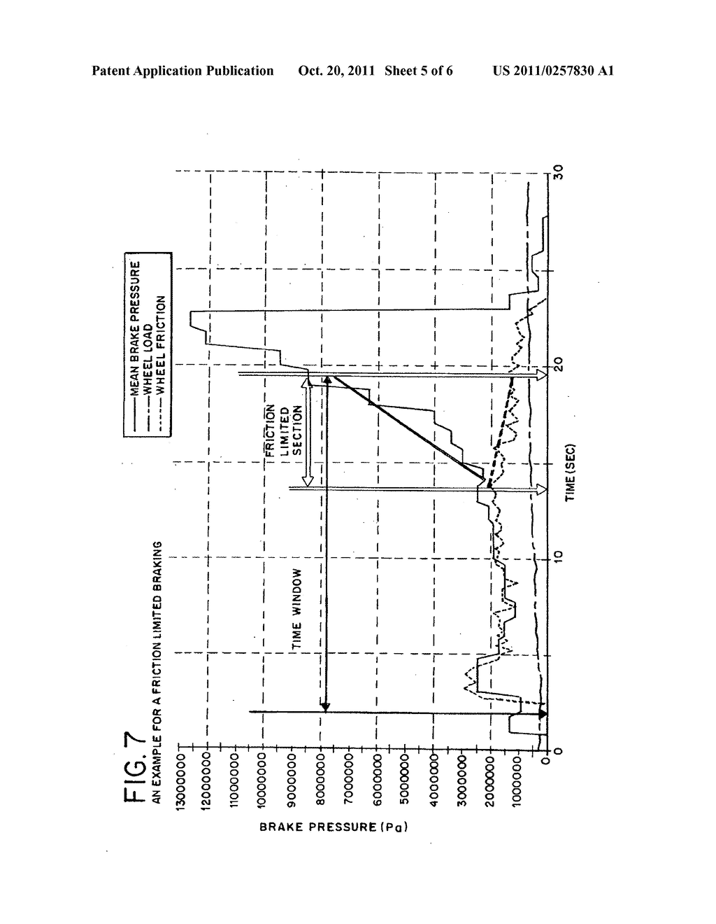 Method and device of calculating aircraft braking friction and other     relating landing performance parameters based on the data  received from     aircraft's on board flight data management system - diagram, schematic, and image 06