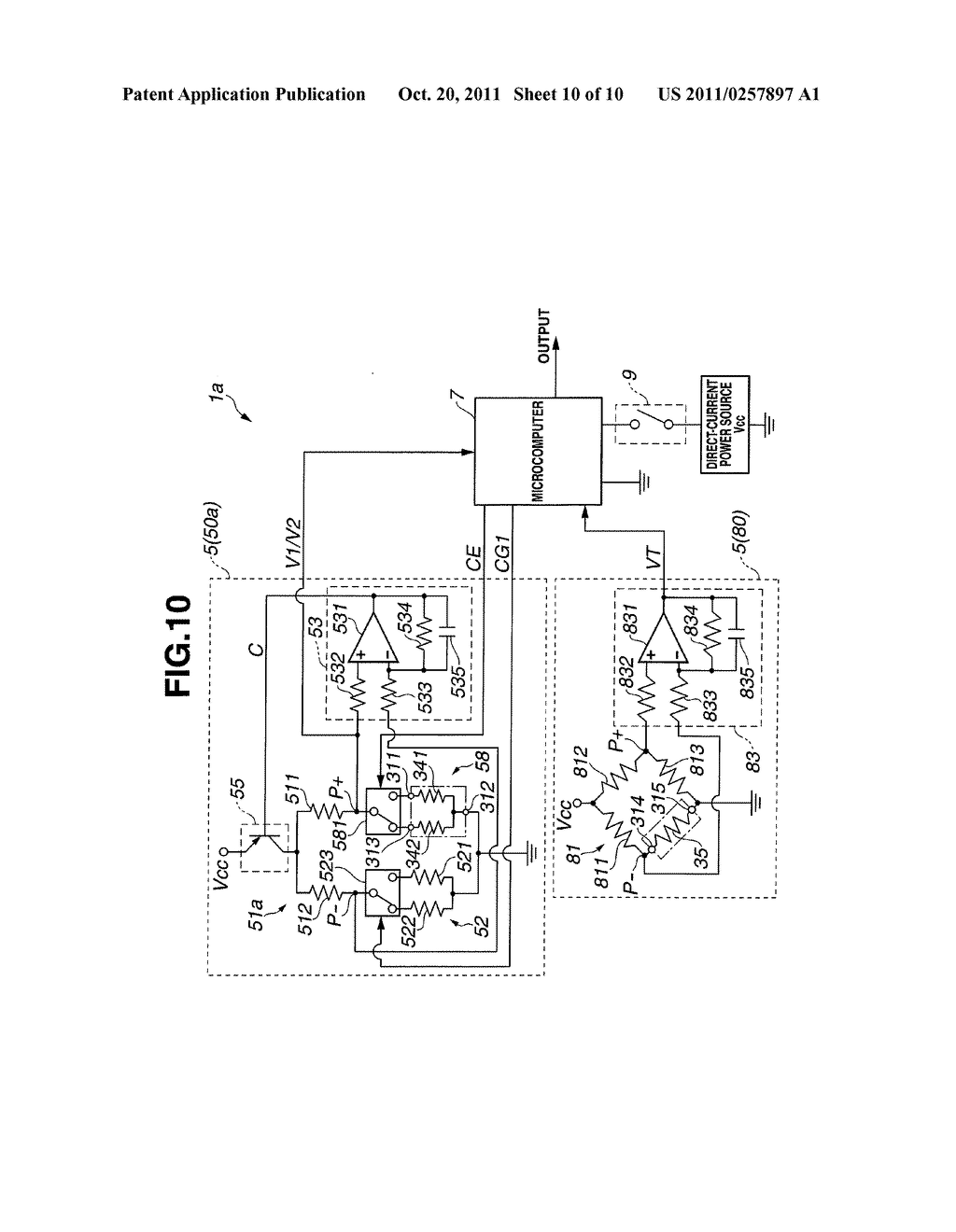 COMBUSTIBLE GAS DETECTION APPARATUS AND COMBUSTIBLE GAS SENSOR CONTROL     METHOD - diagram, schematic, and image 11