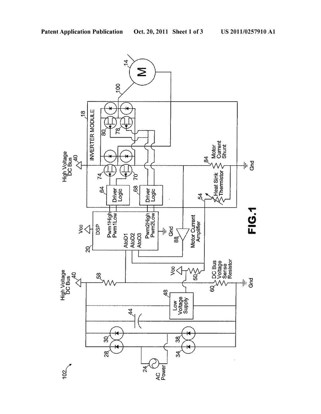 Method for Calibrating a Motor Control Circuit to Improve