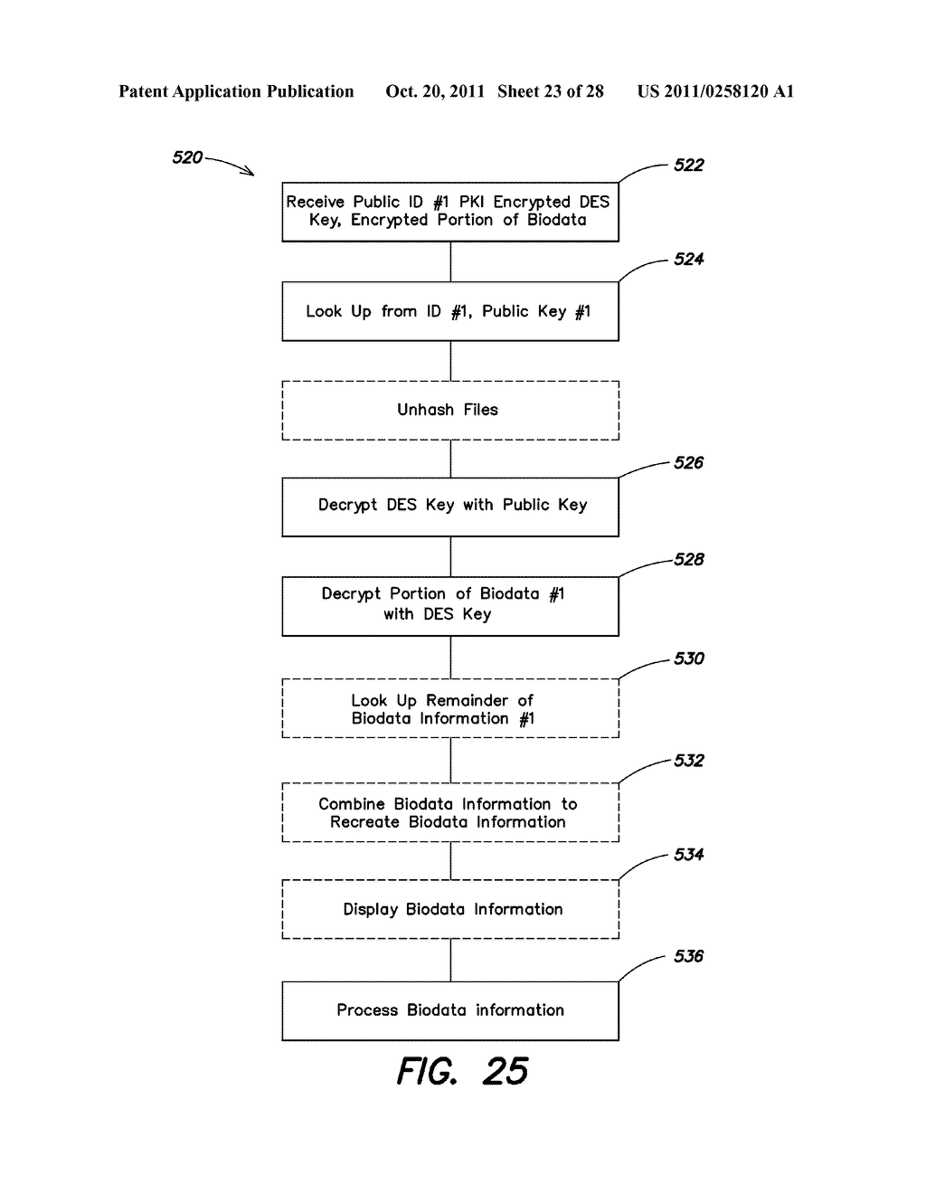 METHOD AND APPARATUS FOR SECURE ACCESS, PAYMENT AND IDENTIFICATION - diagram, schematic, and image 24