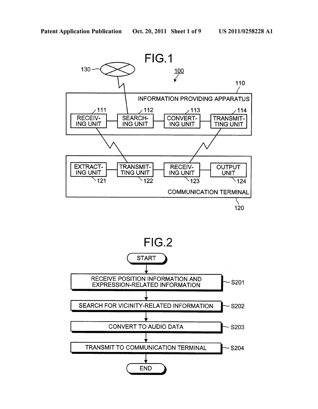 INFORMATION OUTPUT SYSTEM, COMMUNICATION TERMINAL, INFORMATION OUTPUT     METHOD AND COMPUTER PRODUCT - diagram, schematic, and image 02