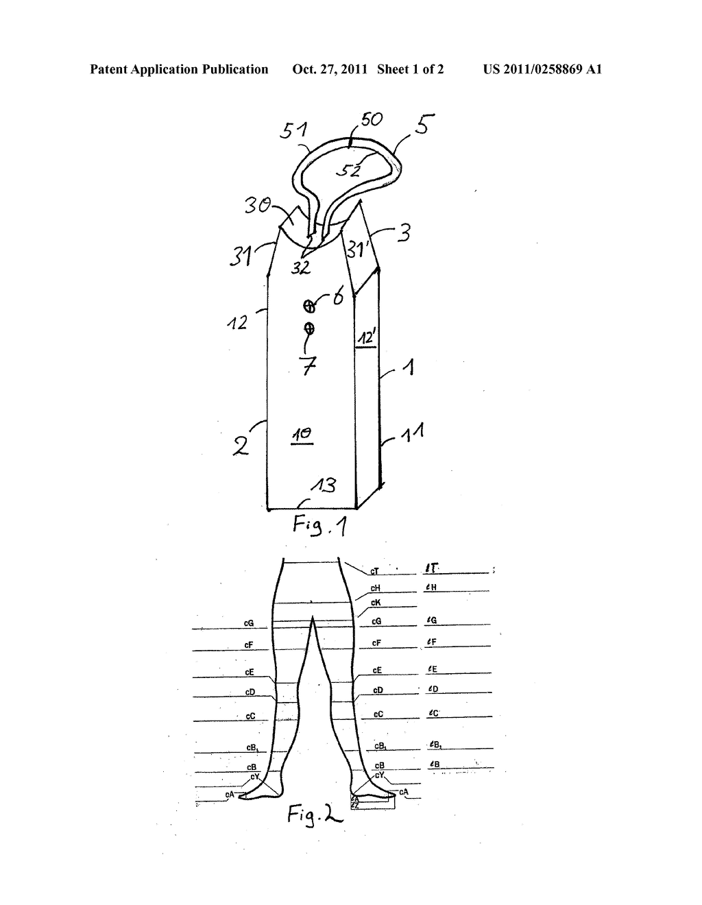 device for determining measurements of human body parts diagram