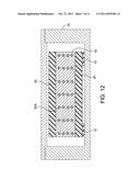 Multi-structure metal matrix composite armor with integrally cast holes diagram and image