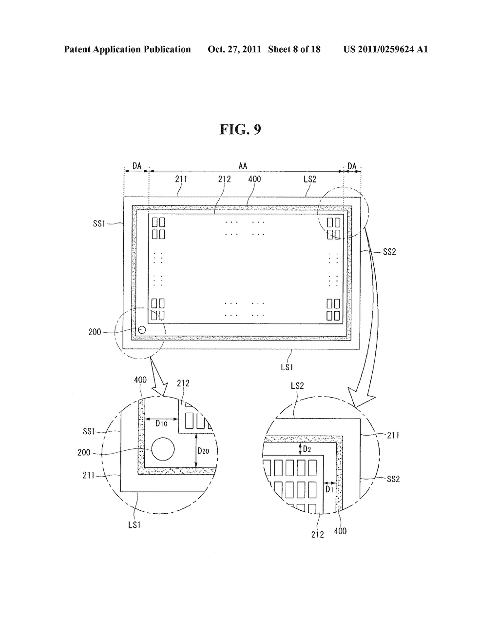 PLASMA DISPLAY PANEL AND MULTI-PLASMA DISPLAY PANEL - diagram, schematic, and image 09