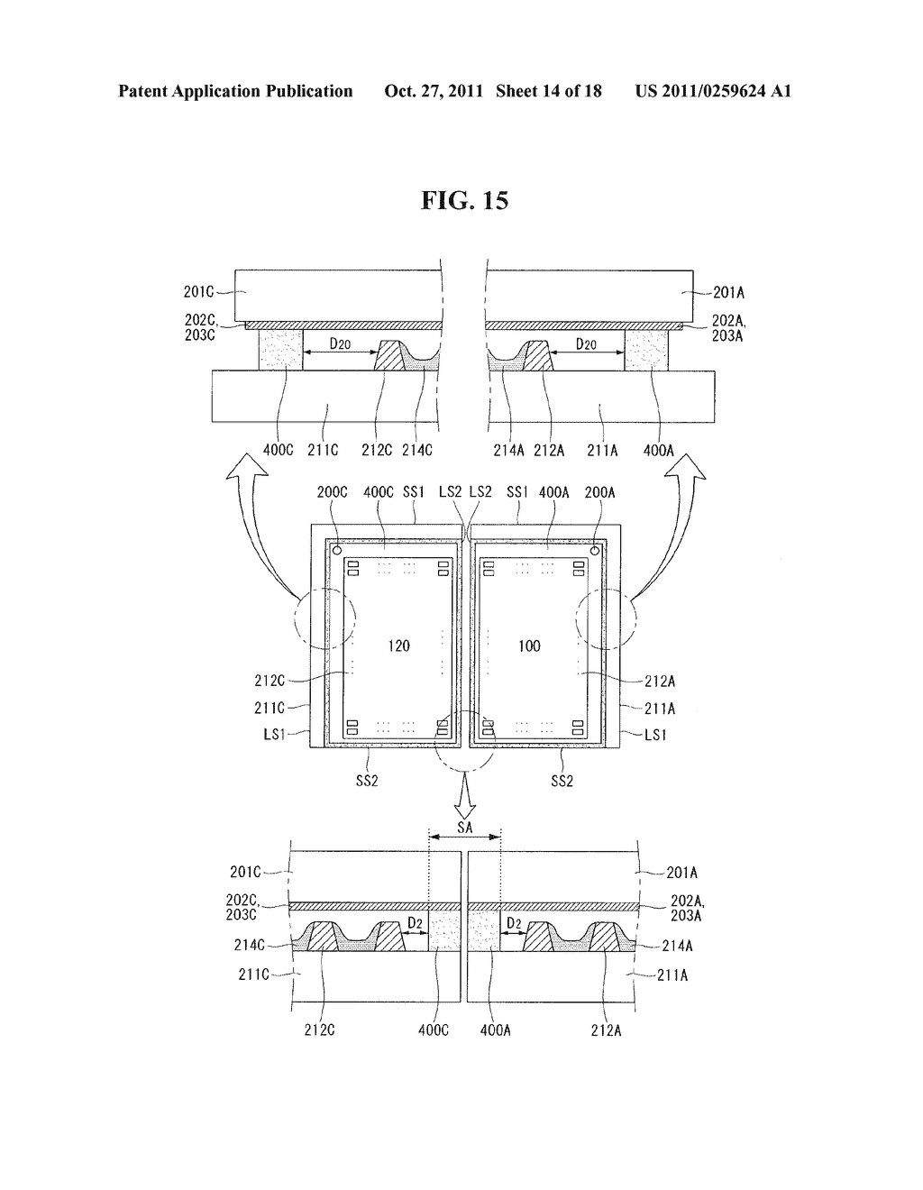 PLASMA DISPLAY PANEL AND MULTI-PLASMA DISPLAY PANEL - diagram, schematic, and image 15
