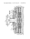 Dry clutch having solid lubricant friction stabilization inserts diagram and image