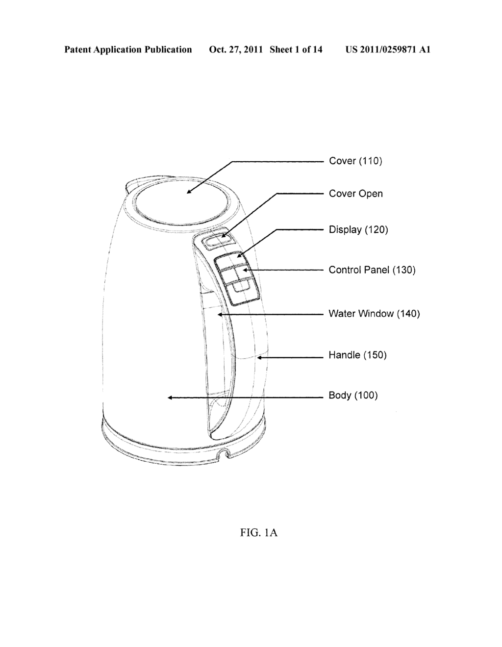INTELLIGENT ELECTRIC KETTLE - diagram, schematic, and image 02Patents