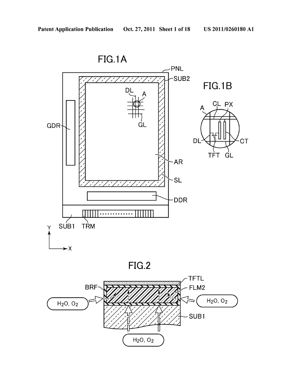 IMAGE DISPLAY DEVICE AND THE METHOD FOR MANUFACTURING THE SAME - diagram, schematic, and image 02