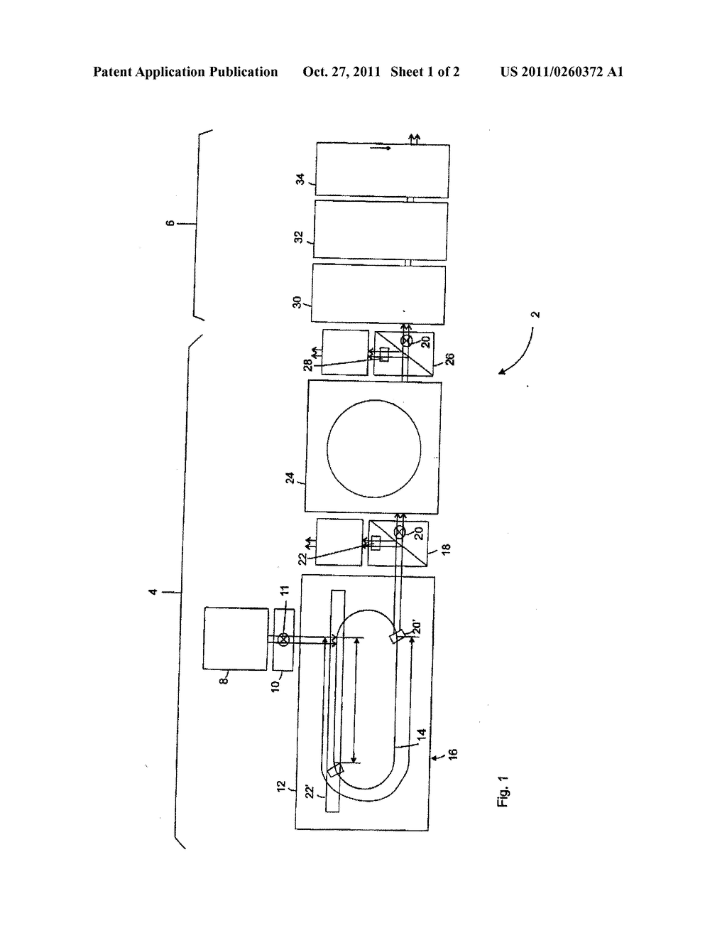 FACILITY AND METHOD FOR PRODUCING CONTAINERS - diagram, schematic, and image 02