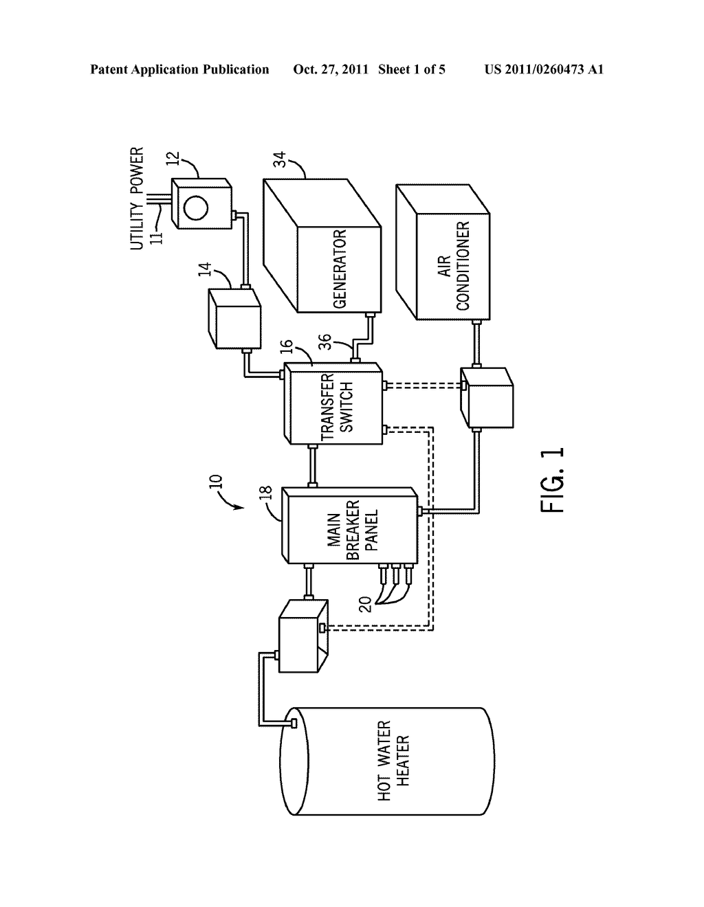 Backup Generator Diagram Wiring Libraries Method For Standby Restart After Fault Shut Down Diagrammethod