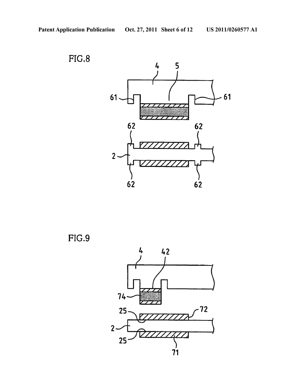 PIEZOELECTRIC RESONATOR DEVICE AND METHOD FOR MANUFACTURING PIEZOELECTRIC     RESONATOR DEVICE - diagram, schematic, and image 07