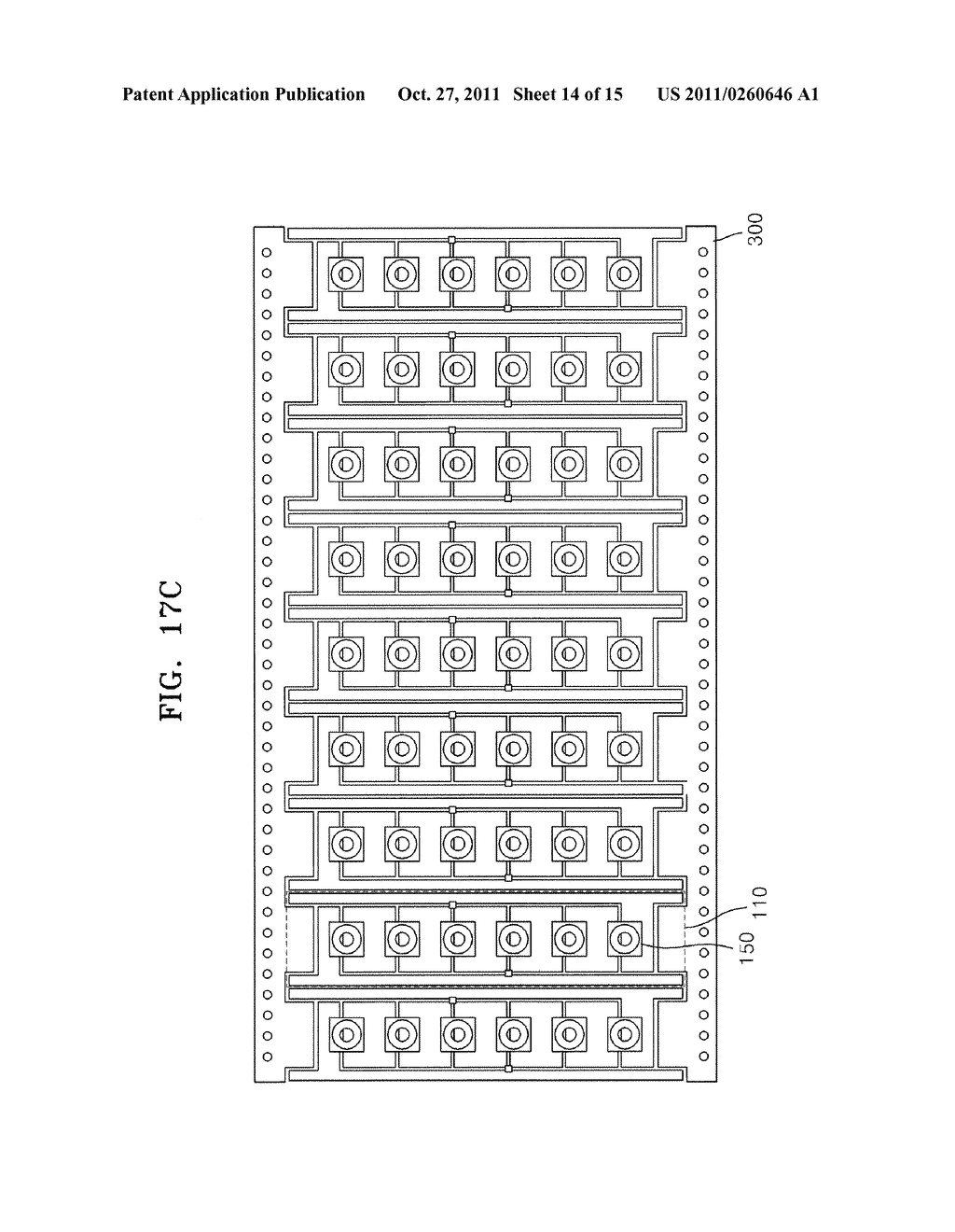 LEAD FRAME FOR LIGHT EMITTING DEVICE PACKAGE, LIGHT EMITTING DEVICE     PACKAGE, AND ILLUMINATION APPARATUS EMPLOYING THE LIGHT EMITTING DEVICE     PACKAGE - diagram, schematic, and image 15