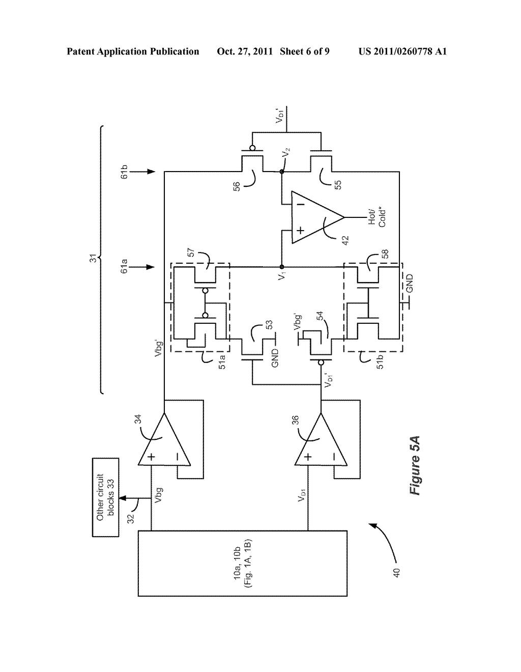 Semiconductor Temperature Sensor Using Bandgap Generator Circuit Diagram Schematic And Image 07