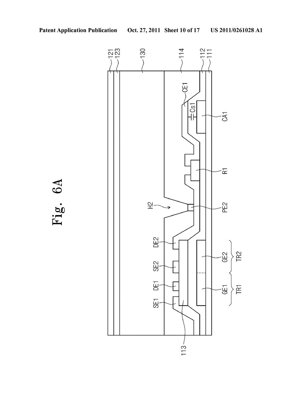 LIQUID CRYSTAL DISPLAY, METHOD OF DRIVING THE SAME, AND METHOD OF     MANUFACTURING THE SAME - diagram, schematic, and image 11