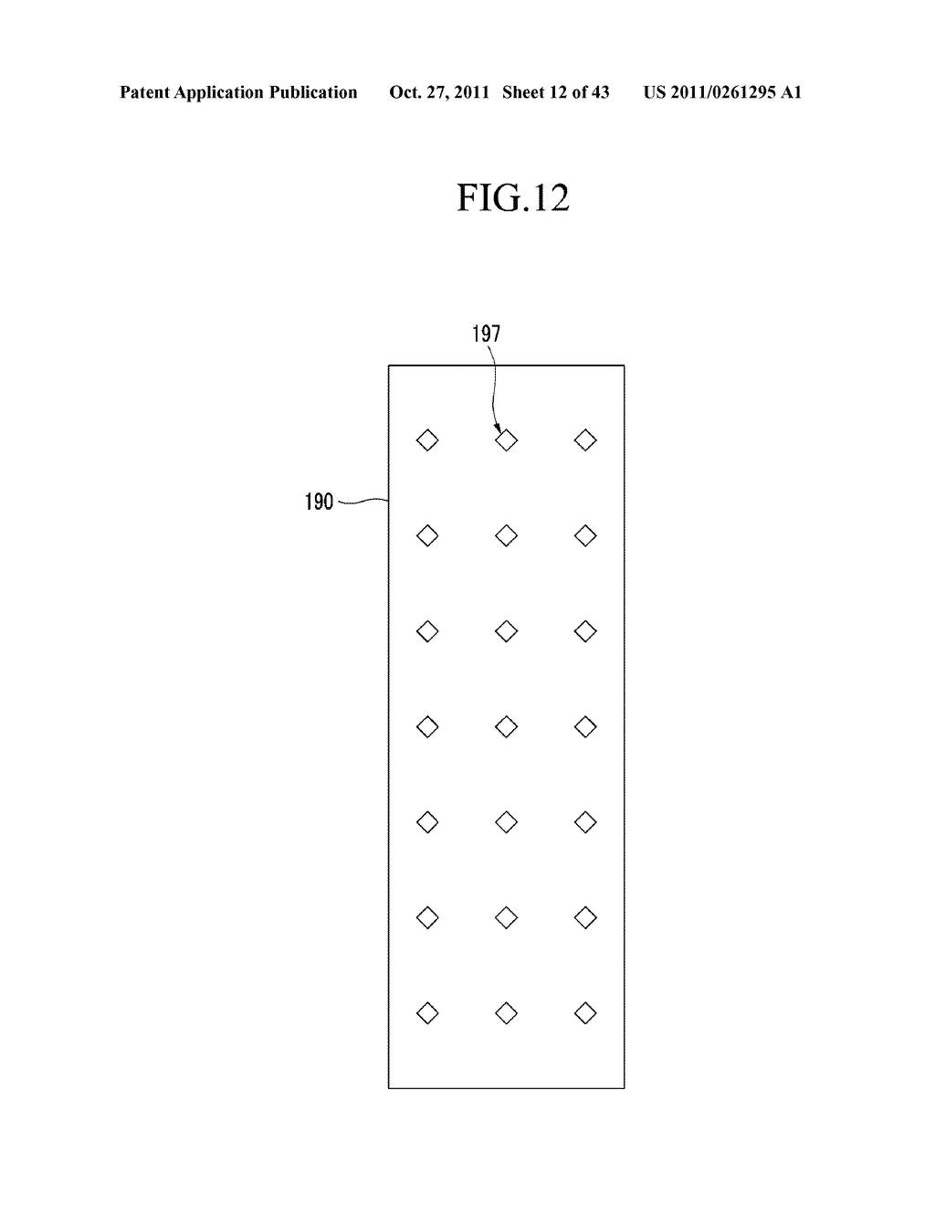 LIQUID CRYSTAL DISPLAY AND MANUFACTURING METHOD OF THE SAME - diagram, schematic, and image 13