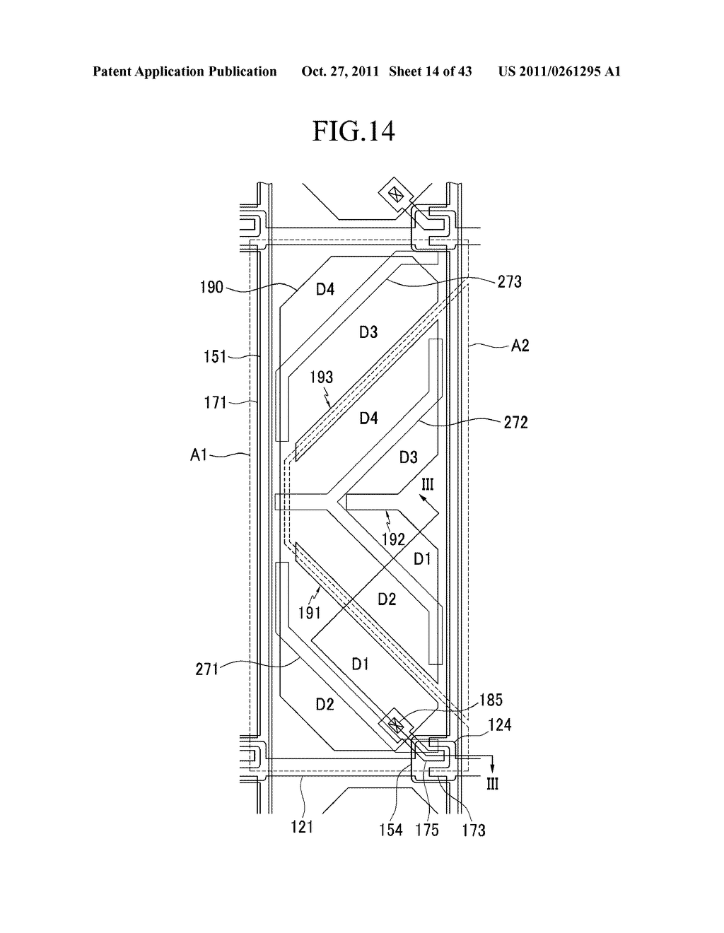 LIQUID CRYSTAL DISPLAY AND MANUFACTURING METHOD OF THE SAME - diagram, schematic, and image 15