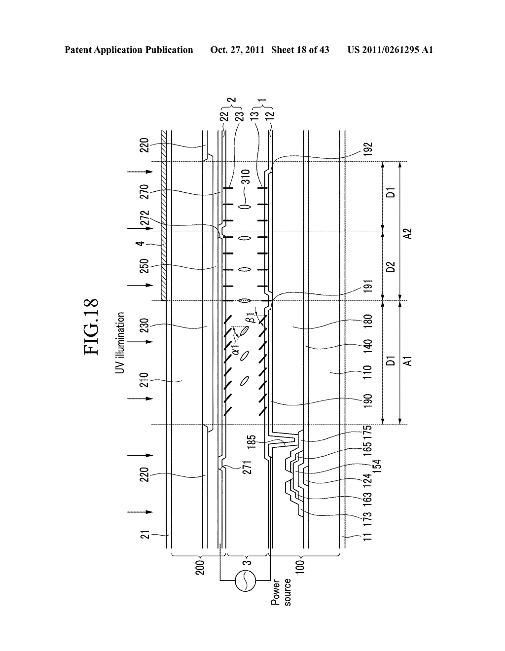 LIQUID CRYSTAL DISPLAY AND MANUFACTURING METHOD OF THE SAME - diagram, schematic, and image 19