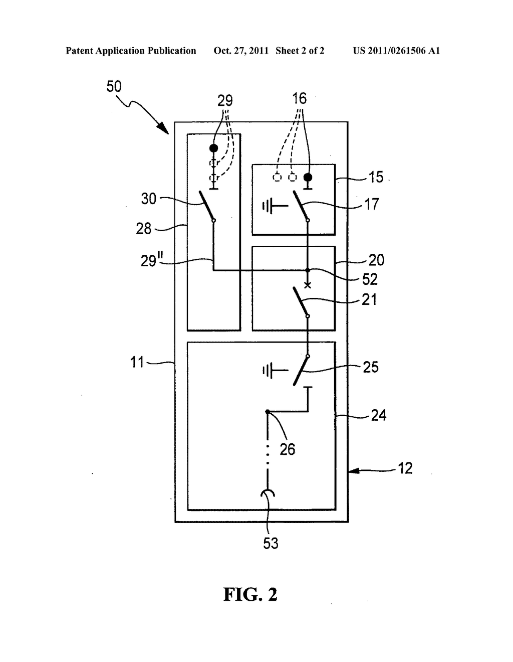 Electrical switchgear, in particular switchgear for medium voltage - diagram,  schematic, and image 03