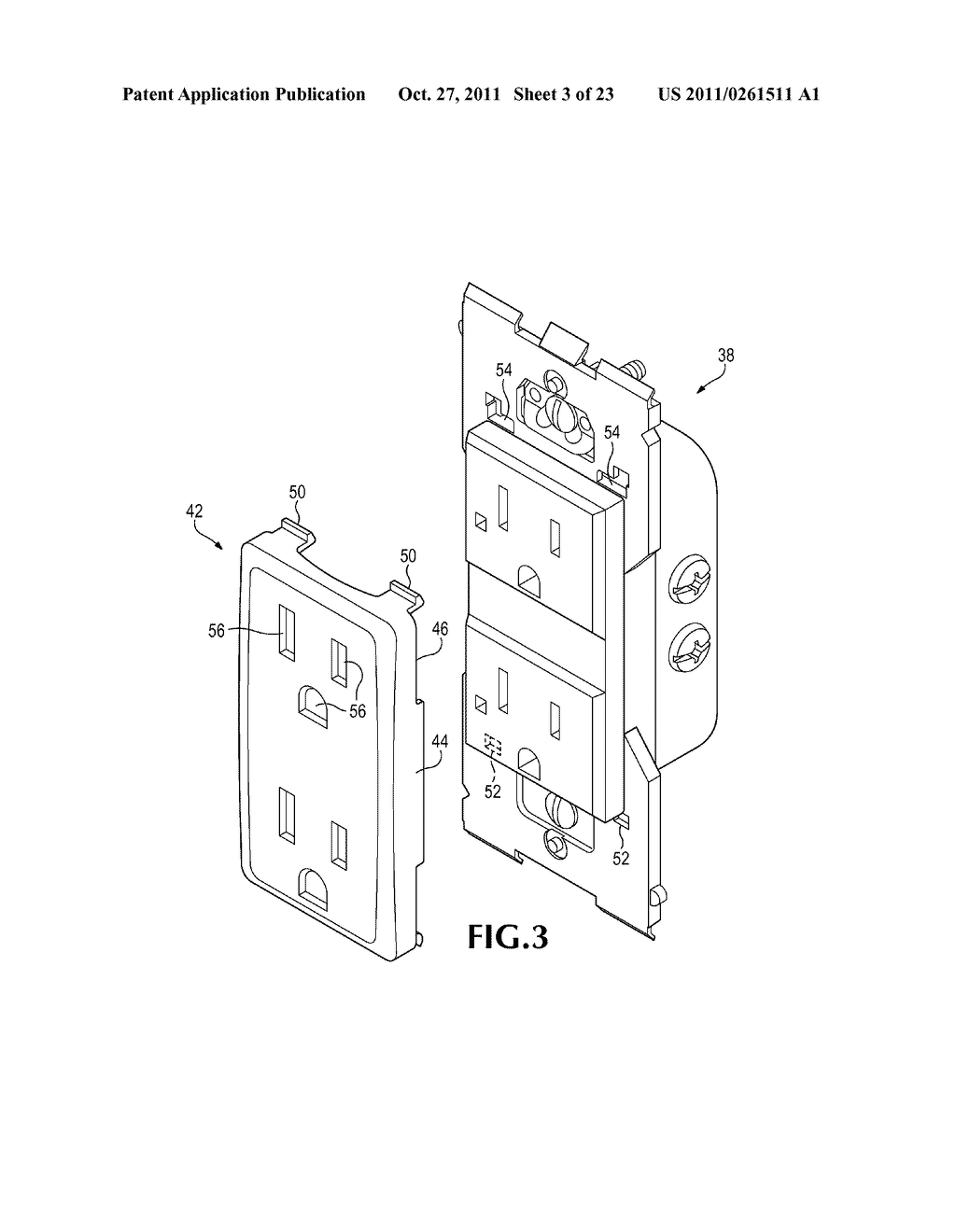 ELECTRICAL DEVICE WITH REMOVABLE COVER - diagram, schematic, and image 04