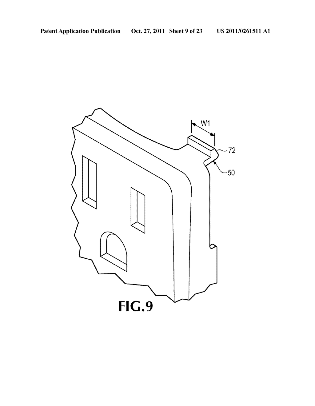 ELECTRICAL DEVICE WITH REMOVABLE COVER - diagram, schematic, and image 10
